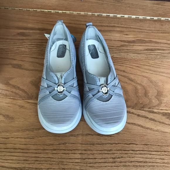 Bzees Shoes   Nwt Rosie Sneaker In Grey